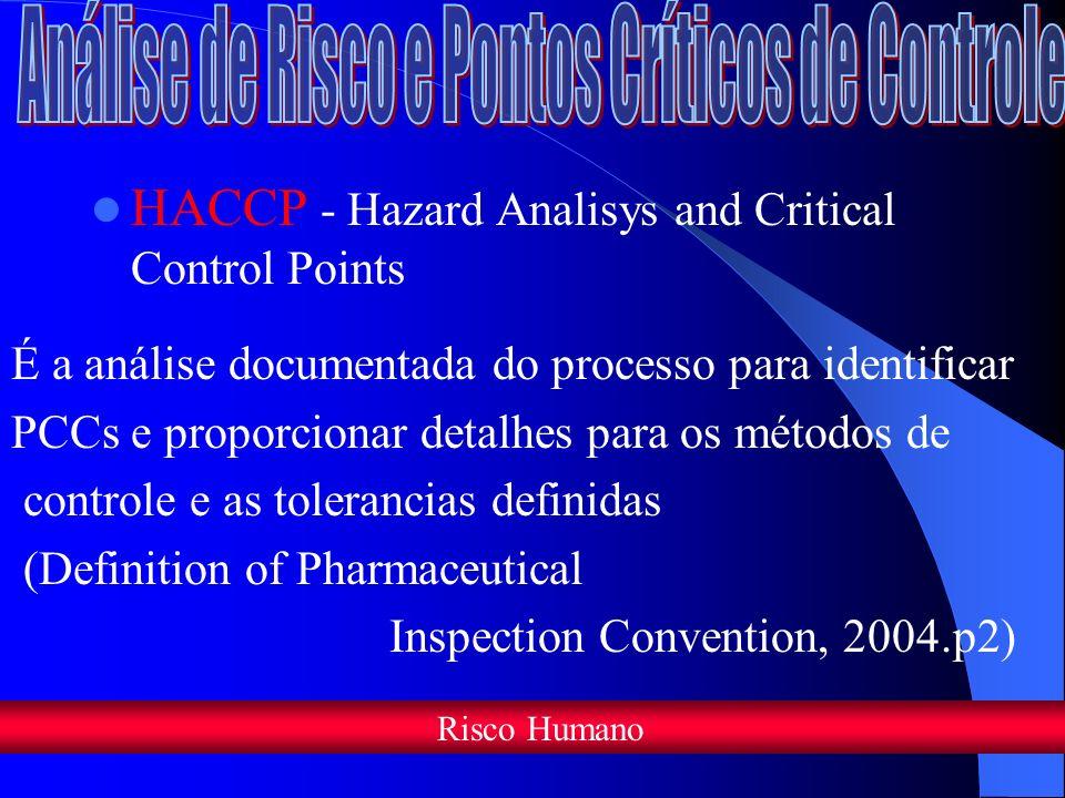 Análise de Risco e Pontos Críticos de Controle