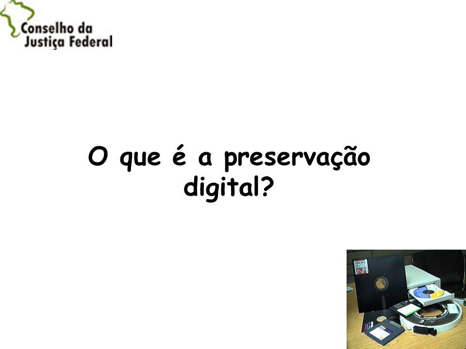O que é a preservação digital