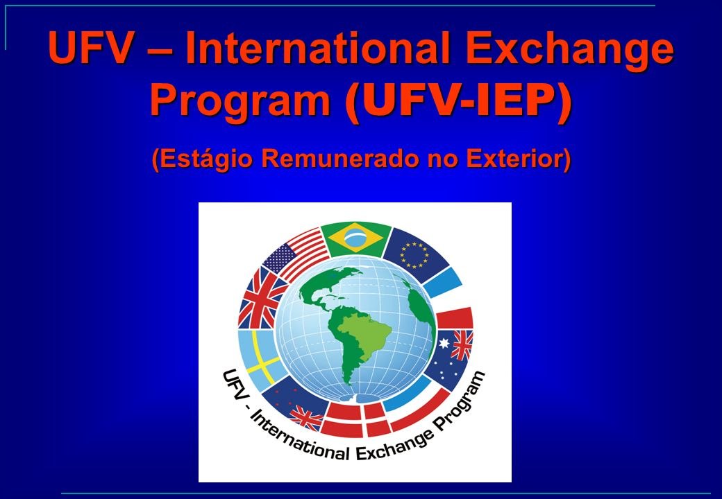 UFV – International Exchange Program (UFV-IEP)