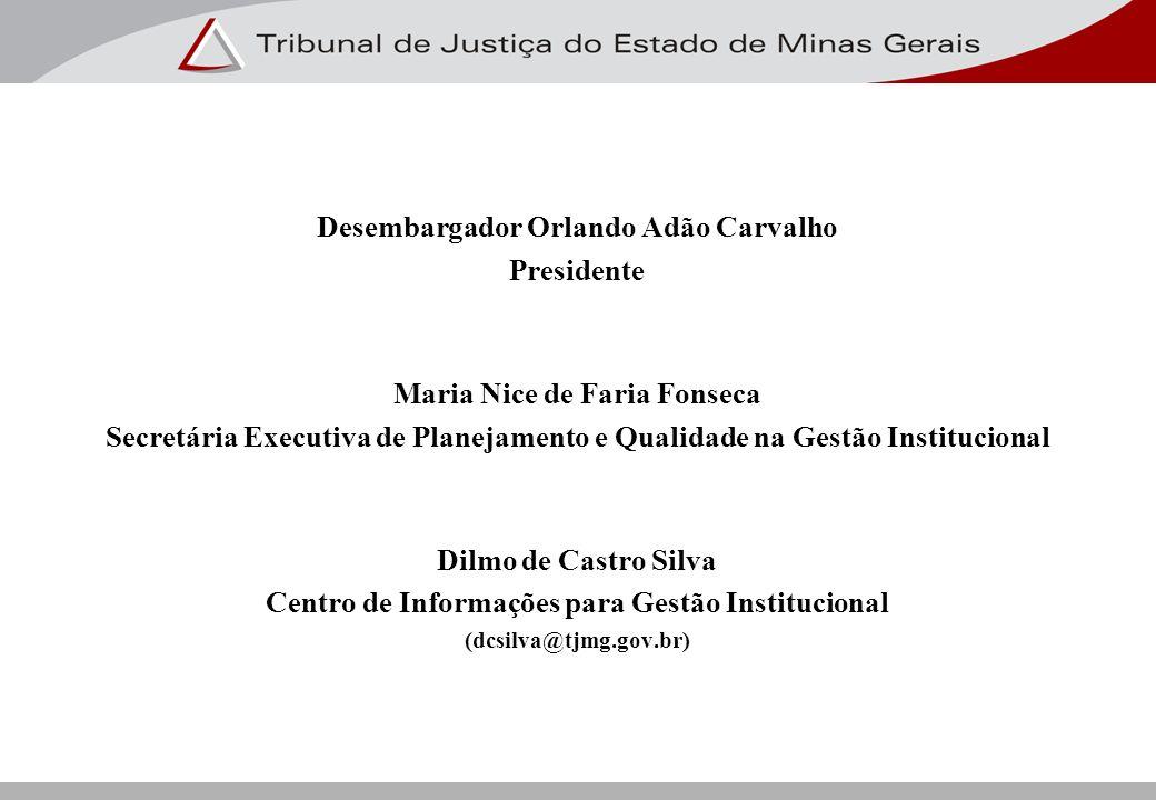 Desembargador Orlando Adão Carvalho Presidente