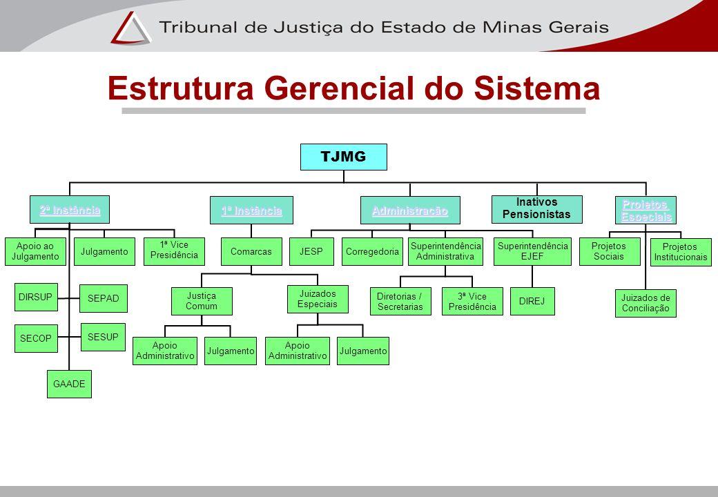 Estrutura Gerencial do Sistema