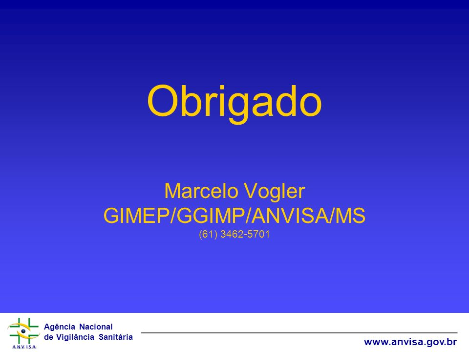 GIMEP/GGIMP/ANVISA/MS