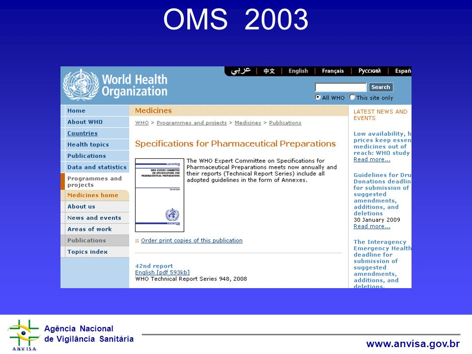 OMS 2003