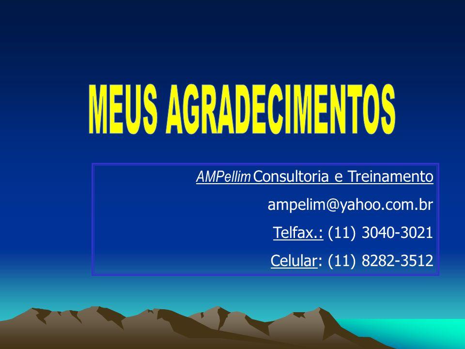 MEUS AGRADECIMENTOS AMPellim Consultoria e Treinamento