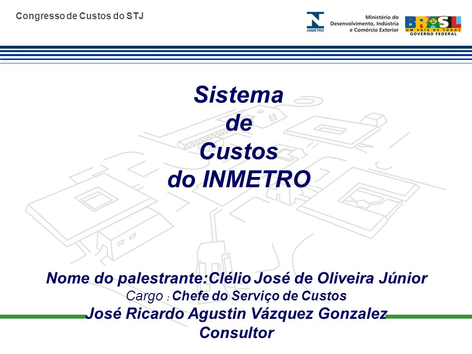 Sistema de Custos do INMETRO