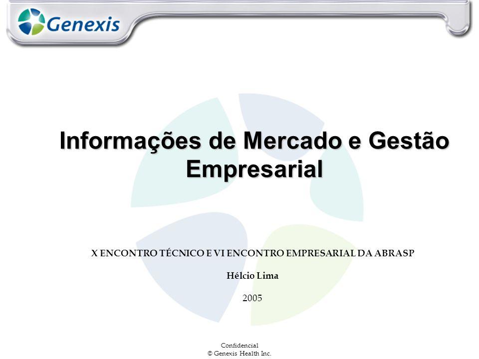 Informações de Mercado e Gestão Empresarial