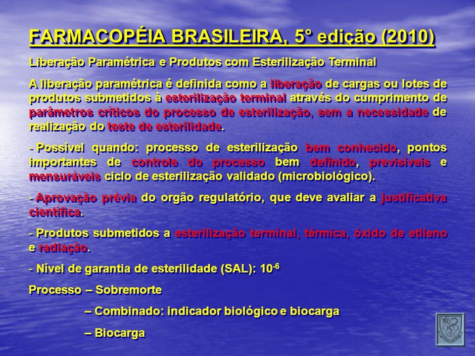 FARMACOPÉIA BRASILEIRA, 5° edição (2010)