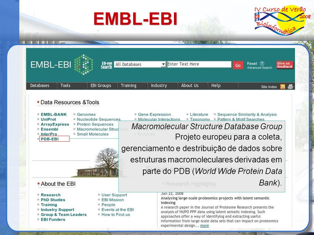 EMBL-EBI Macromolecular Structure Database Group