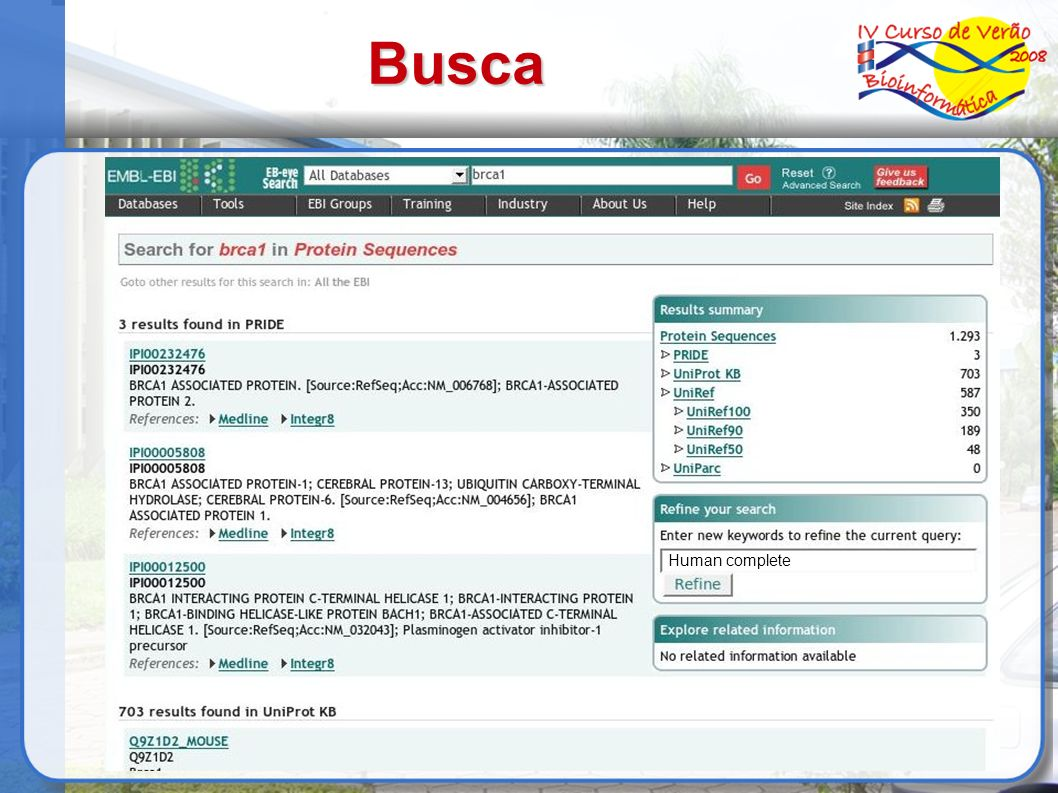 Busca Human complete