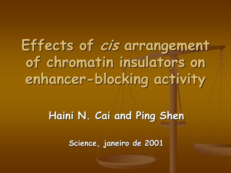 Haini N. Cai and Ping Shen Science, janeiro de 2001