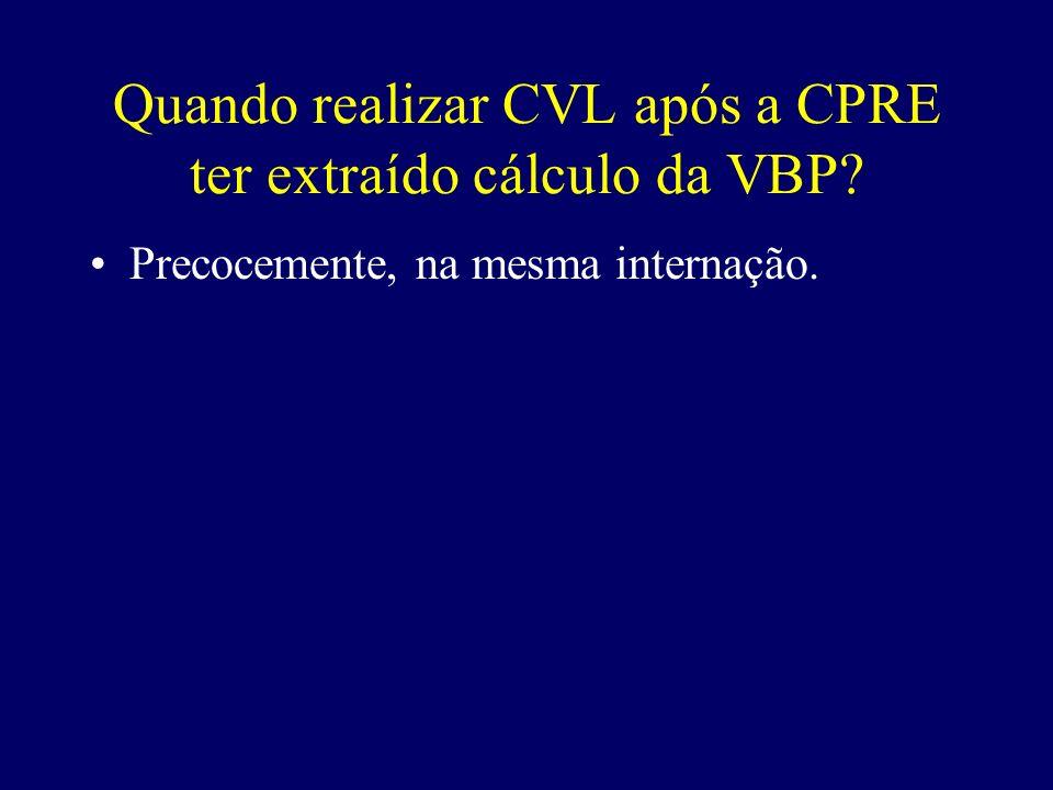 Quando realizar CVL após a CPRE ter extraído cálculo da VBP