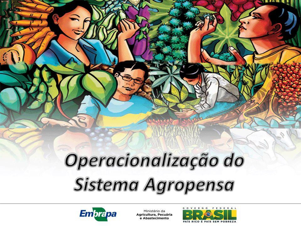 Operacionalização do Sistema Agropensa