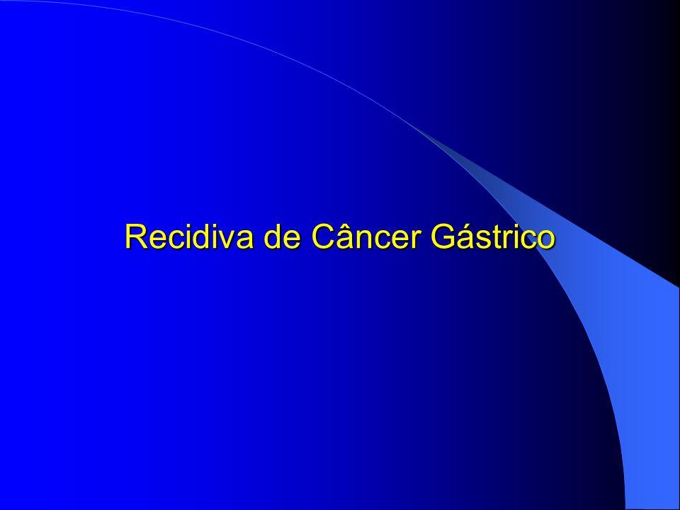 Recidiva de Câncer Gástrico