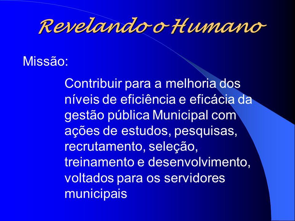 Revelando o Humano Missão: