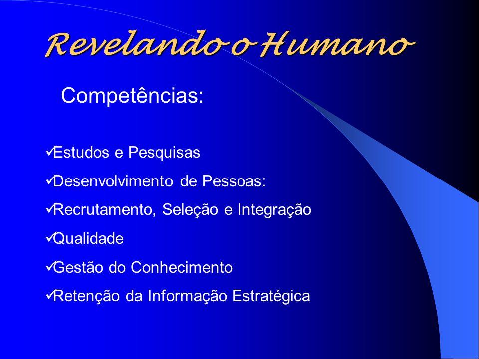 Revelando o Humano Competências: Estudos e Pesquisas