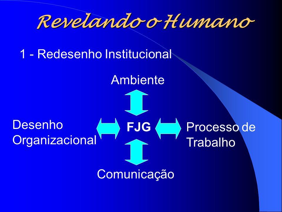 Revelando o Humano 1 - Redesenho Institucional Ambiente Desenho