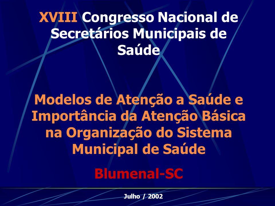 XVIII Congresso Nacional de Secretários Municipais de Saúde