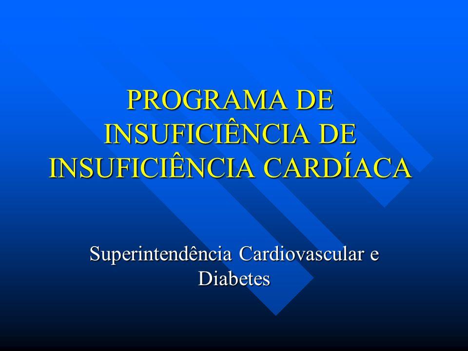 PROGRAMA DE INSUFICIÊNCIA DE INSUFICIÊNCIA CARDÍACA