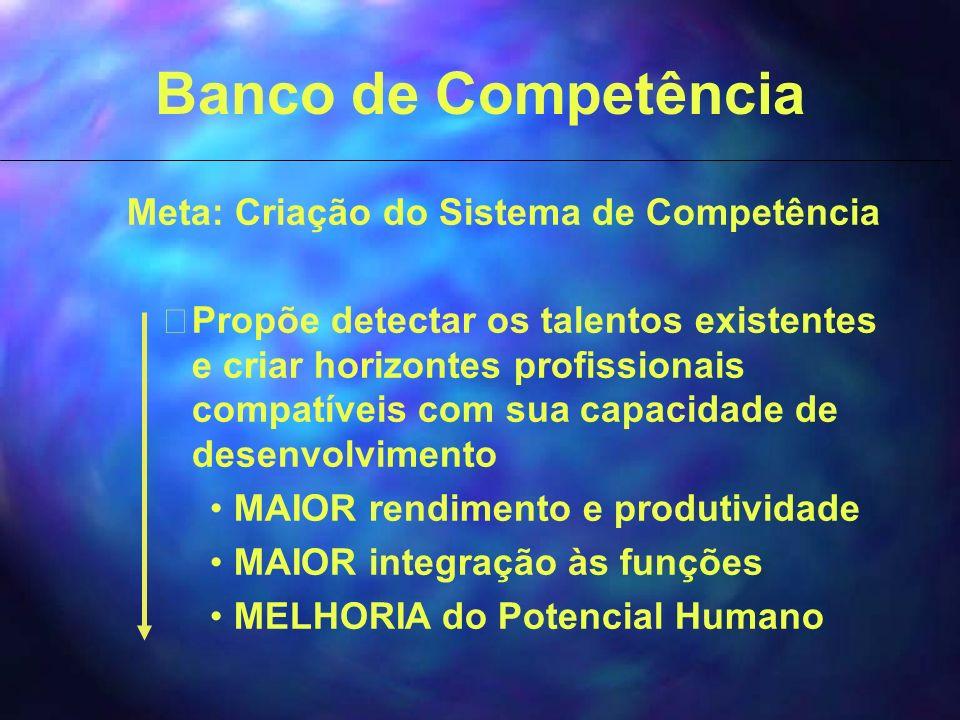 Meta: Criação do Sistema de Competência