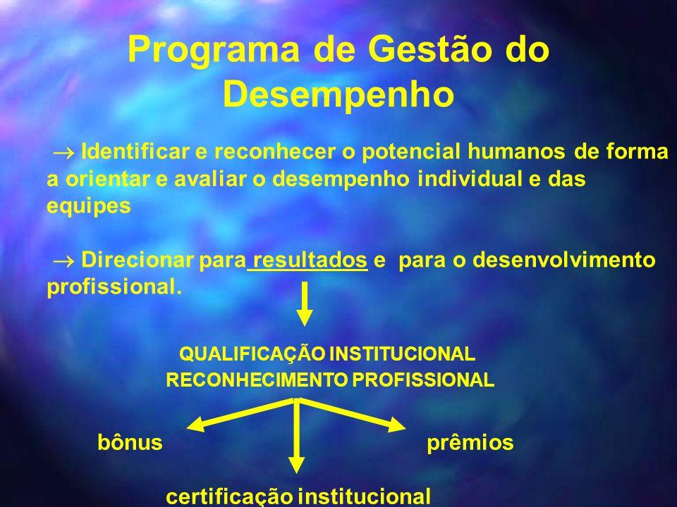 Programa de Gestão do Desempenho