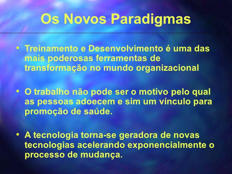 Os Novos Paradigmas Treinamento e Desenvolvimento é uma das mais poderosas ferramentas de transformação no mundo organizacional.