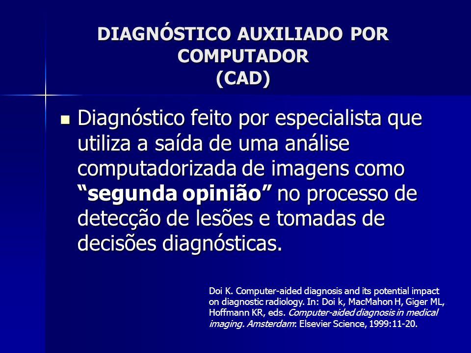 DIAGNÓSTICO AUXILIADO POR COMPUTADOR (CAD)