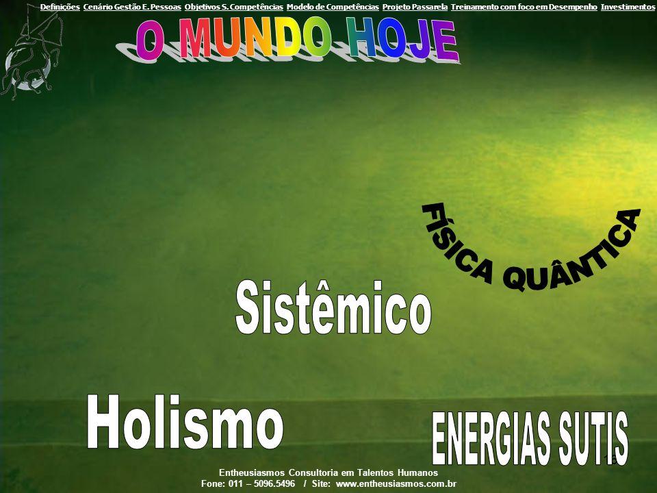 O MUNDO HOJE FÍSICA QUÂNTICA Sistêmico Holismo ENERGIAS SUTIS