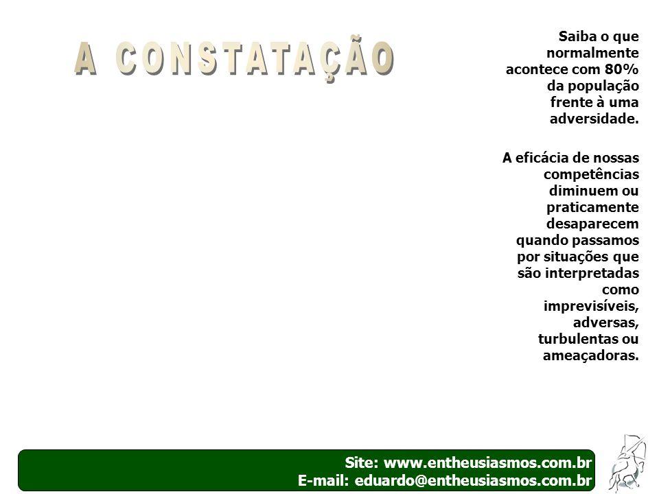 A CONSTATAÇÃO Site: www.entheusiasmos.com.br