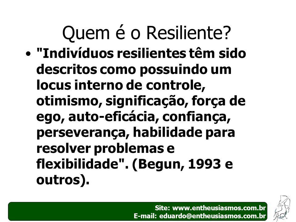 Quem é o Resiliente