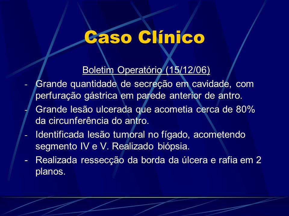 Caso Clínico Boletim Operatório (15/12/06)