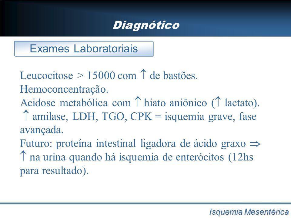 Diagnótico Exames Laboratoriais