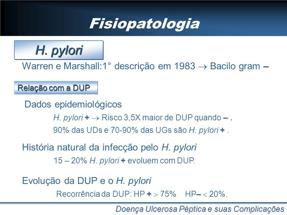 Fisiopatologia H. pylori