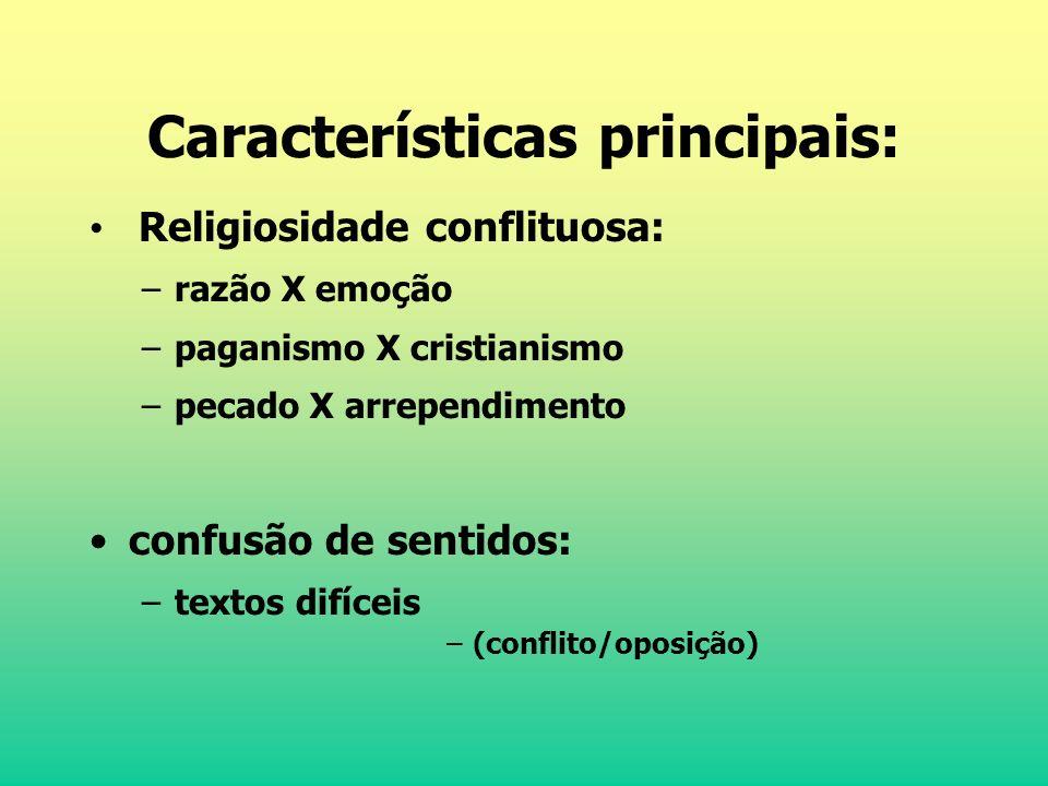 Características principais:
