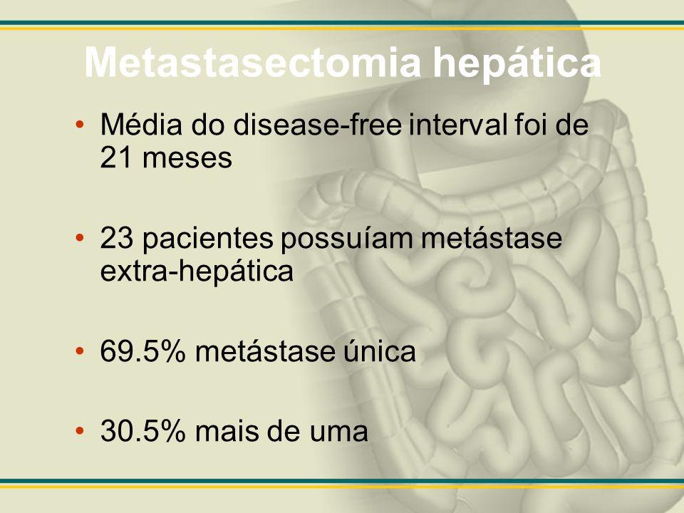 Metastasectomia hepática