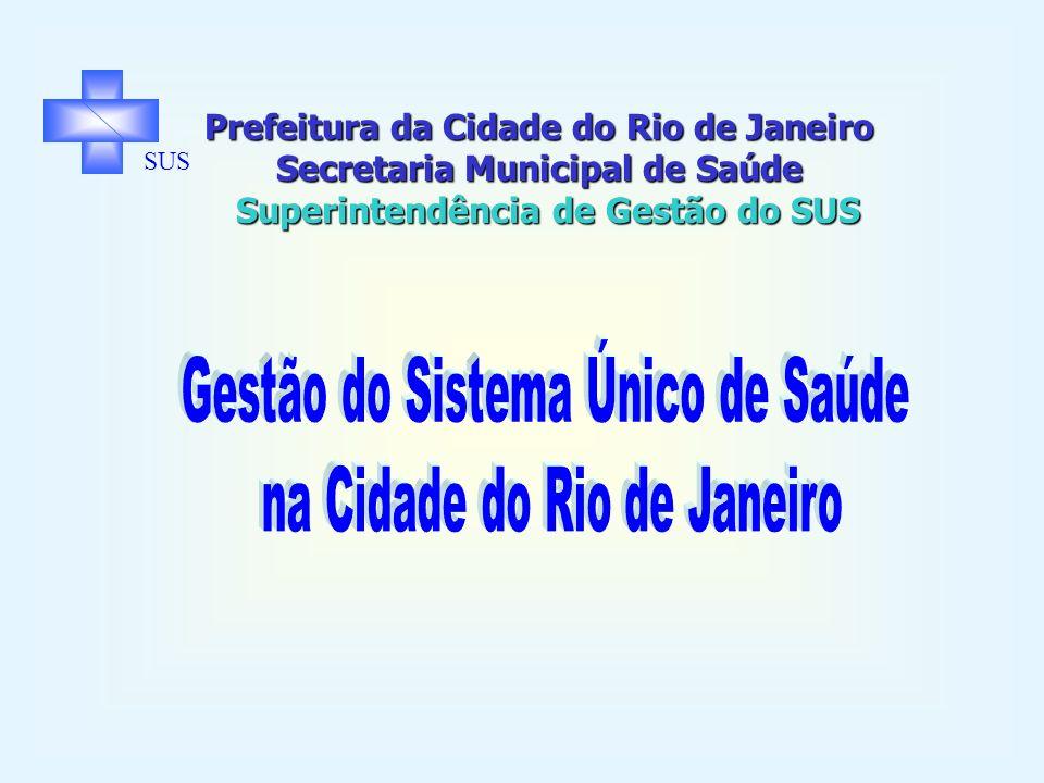 Gestão do Sistema Único de Saúde na Cidade do Rio de Janeiro