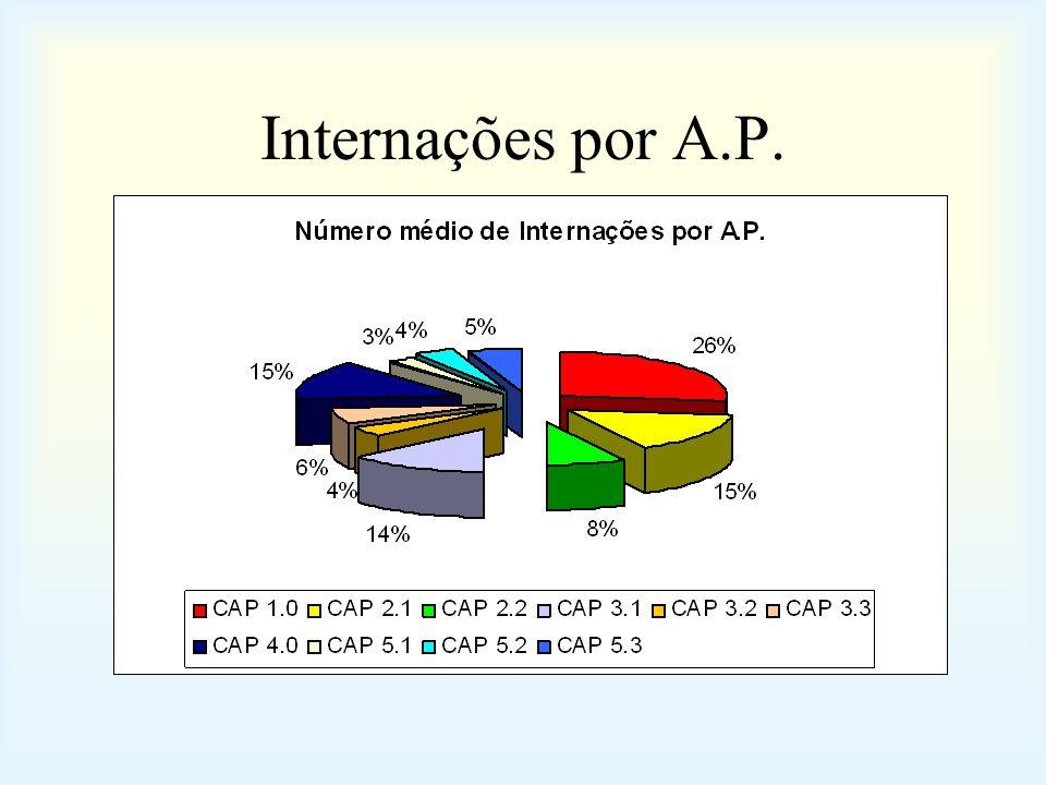 Internações por A.P.
