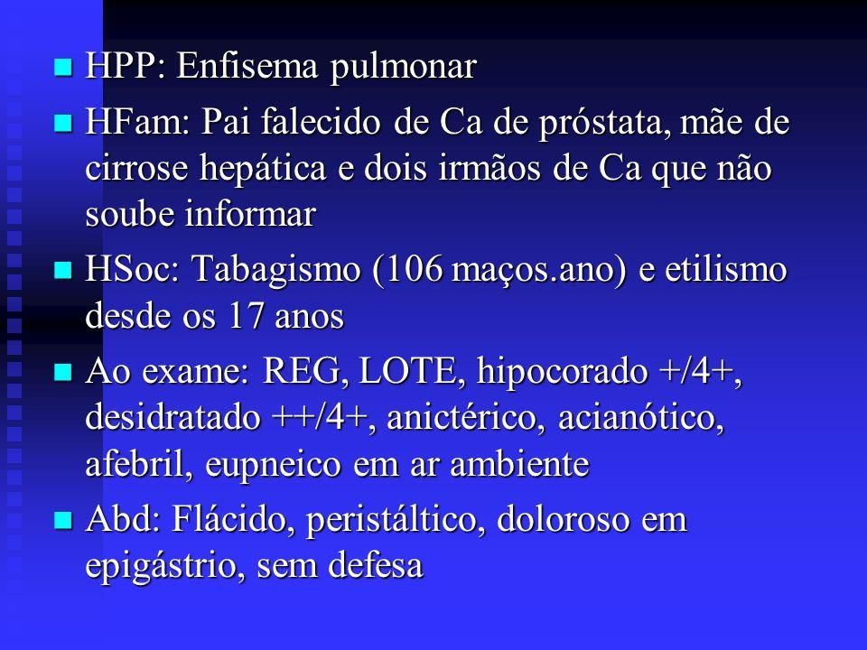 HPP: Enfisema pulmonar
