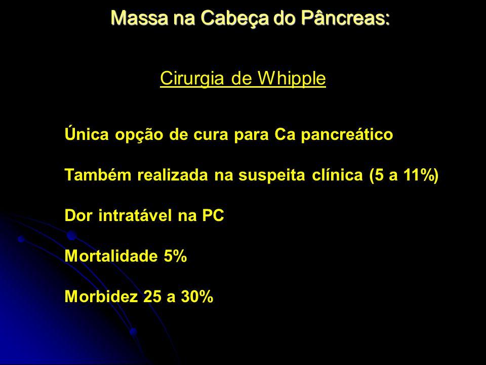 Massa na Cabeça do Pâncreas: