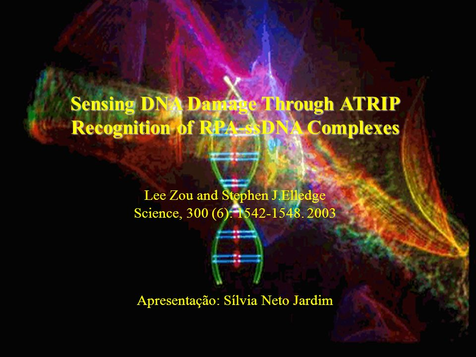 Sensing DNA Damage Through ATRIP Recognition of RPA-ssDNA Complexes
