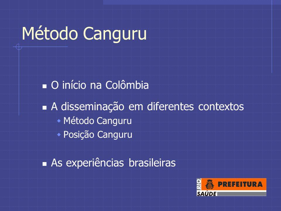 Método Canguru O início na Colômbia