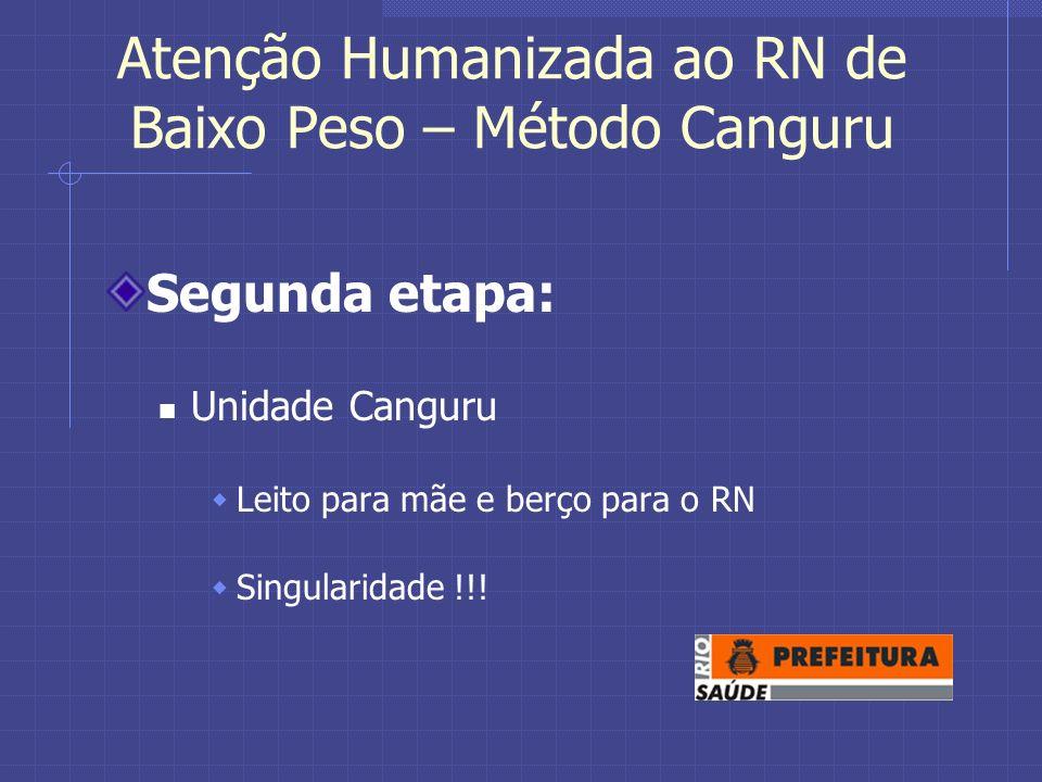 Atenção Humanizada ao RN de Baixo Peso – Método Canguru
