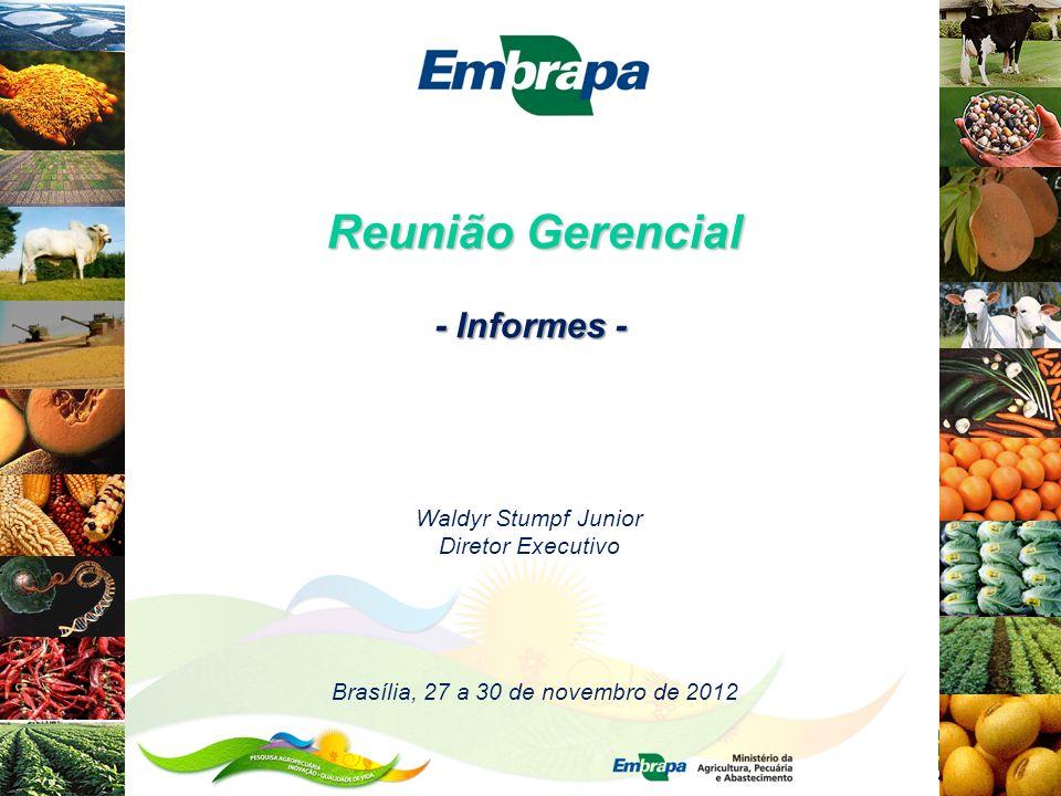 Brasília, 27 a 30 de novembro de 2012