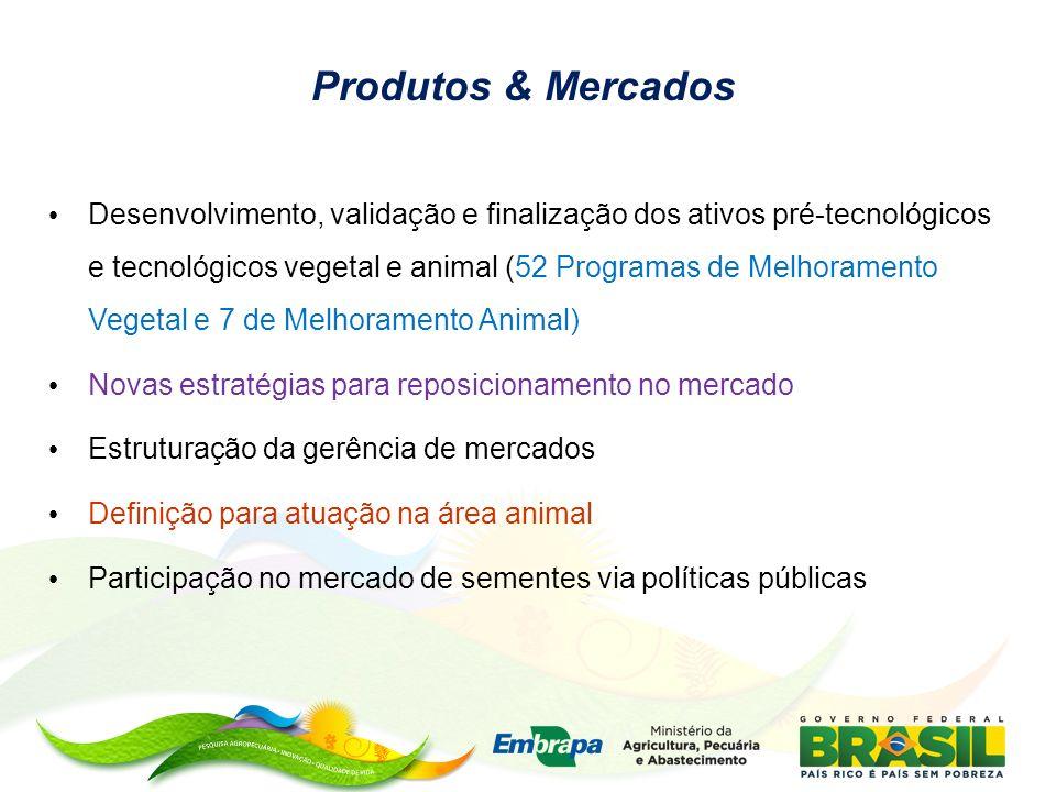 Produtos & Mercados