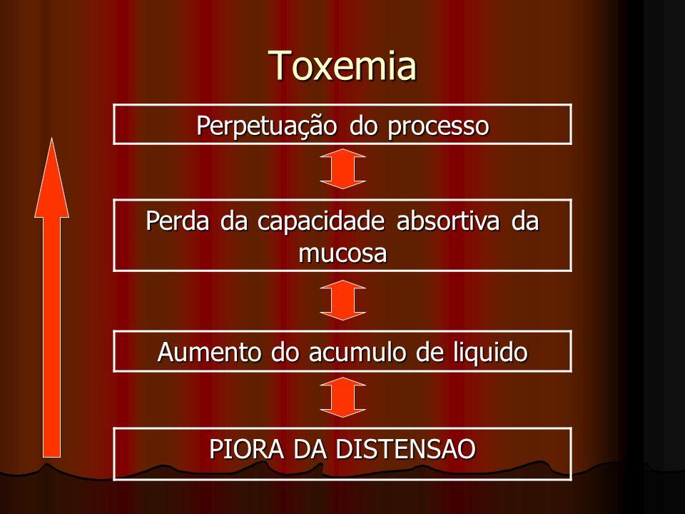 Toxemia Perpetuação do processo