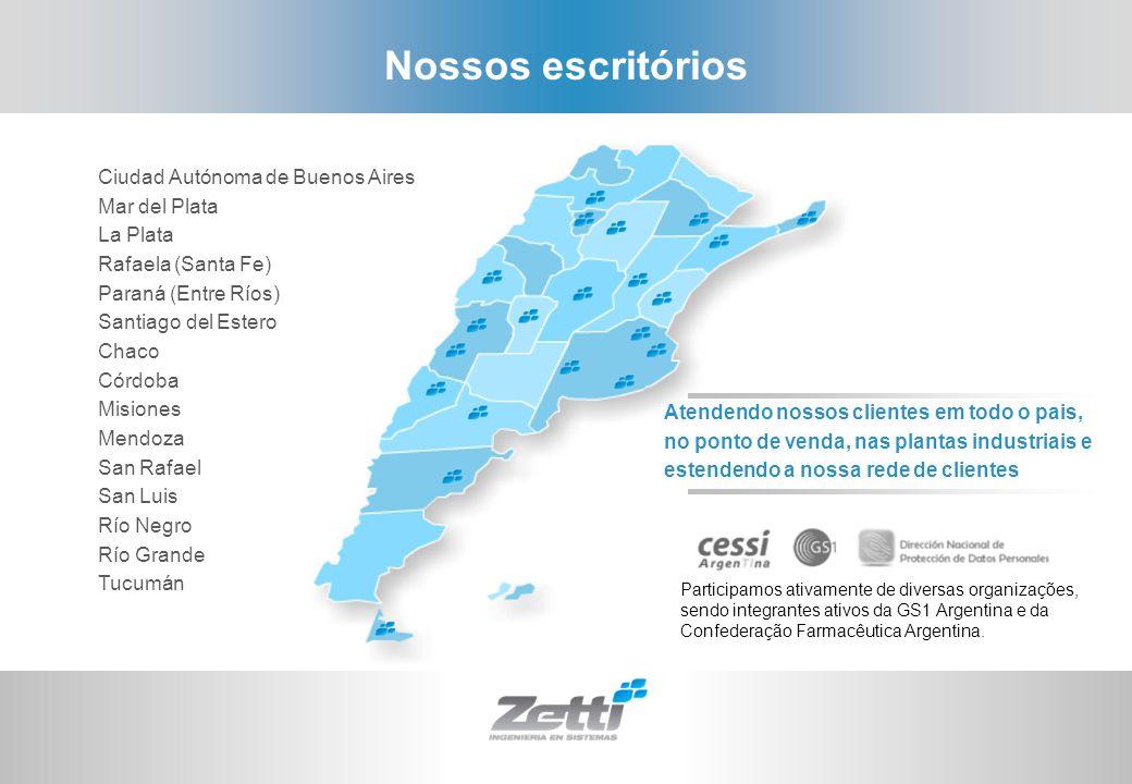 Nossos escritórios Ciudad Autónoma de Buenos Aires Mar del Plata