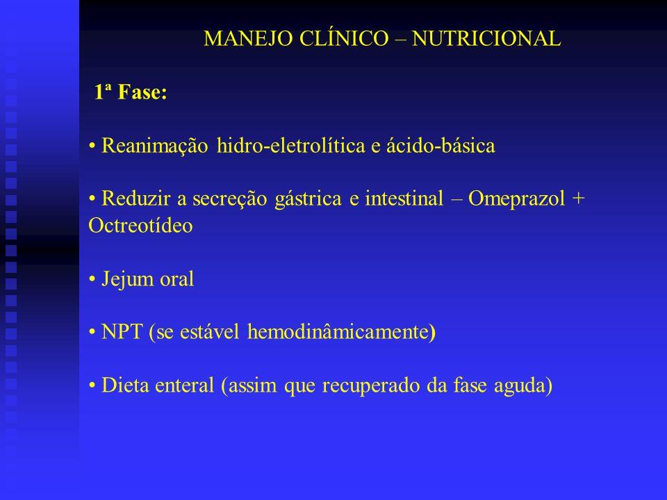 MANEJO CLÍNICO – NUTRICIONAL