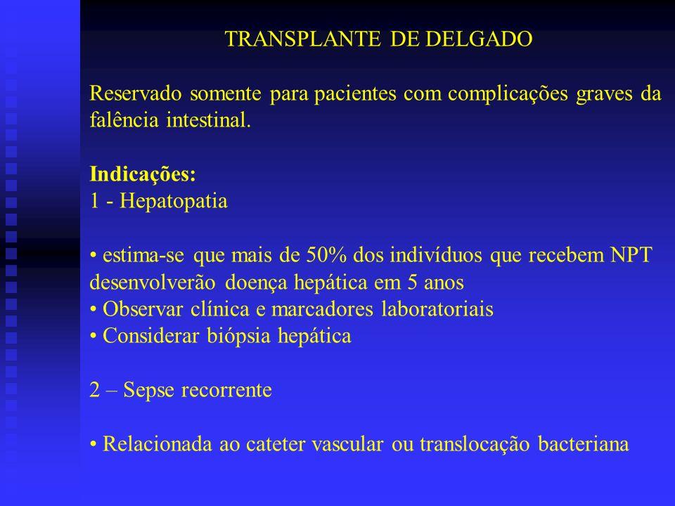TRANSPLANTE DE DELGADO