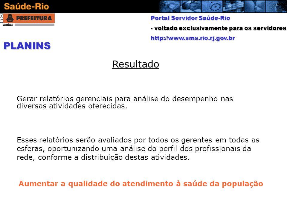 Portal Servidor Saúde-Rio