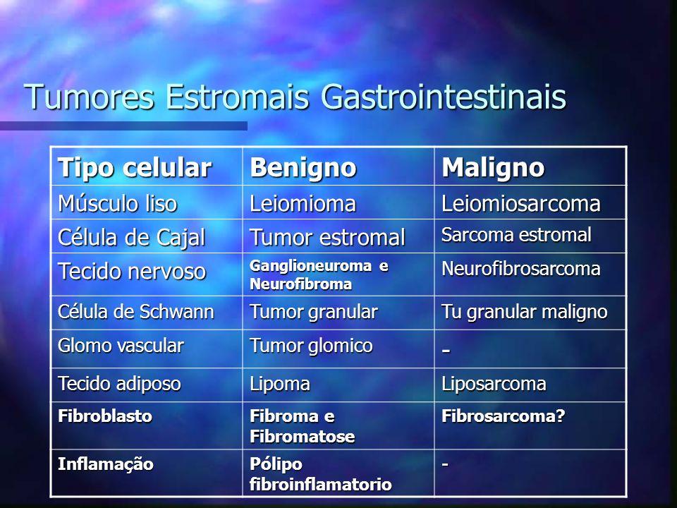 Tumores Estromais Gastrointestinais
