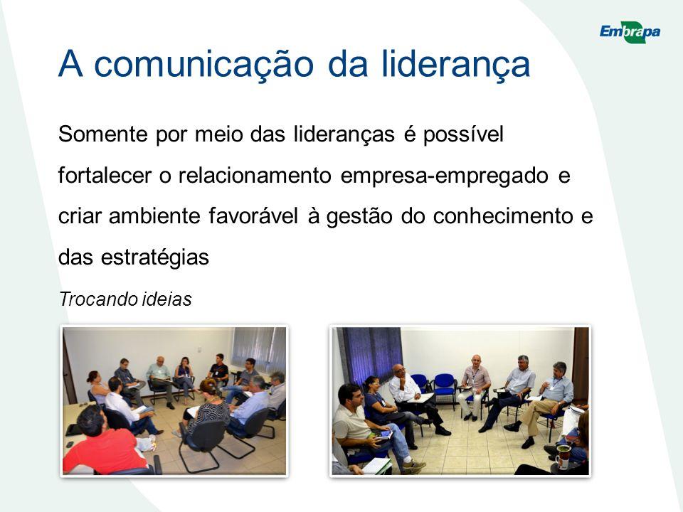 A comunicação da liderança